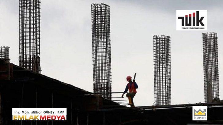 2021 Mayıs inşaat maliyet endeksi artışı yıllık yüzde 39,56 oldu!