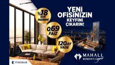 Mahall Bomonti İzmir'de Yeni Ofisinizin Keyfini Çıkartın