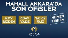 Son Ofisler Mahall Ankara'da Satışta!