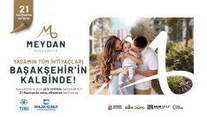 """Emlak Konut """"Meydan Başakşehir"""" projesi satışa sunuldu!"""