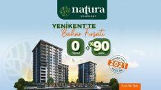 Natura Yenikent'te 0 Peşinat Hemen Tapu