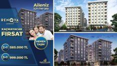 Renova Evleri Çekmeköy'de Kaçırılmayacak Fırsat!