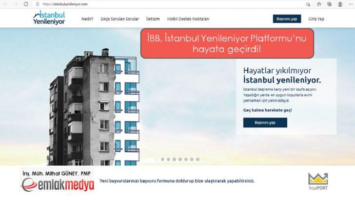 İBB, İstanbul Yenileniyor Platformu'nu hayata geçirdi!