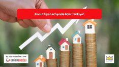 Küresel bazda Konut Fiyat Artışı en çok Türkiye'de gerçekleşti!