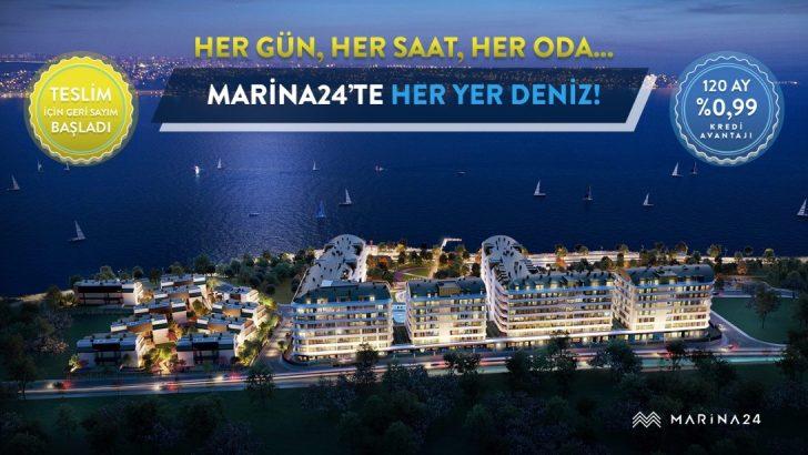 Marina 24'te Hayallerinize Kavuşturan Kampanya! 120 Ay %0,99 Kredi Avantajı