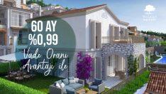 Villarima Kaleköy villalarına düşük vade farkıyla sahip olun!