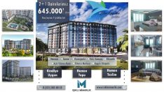 Blue Garden Pendik Konutları 645.000 TL'den Başlayan Fiyatlarla!