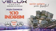Velux Ankara Fırsatı! Peşinatı Aralık Ayında Öde