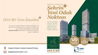Ataşehir Modern Konutları Taksit İmkanı ile Satışta