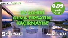Sur Yapı Yeşilmavi'de Büyük Fırsat!
